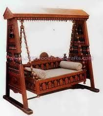 Pakistani Handicraft Porch Wooden Swing Iwant Buy Please Tell Me