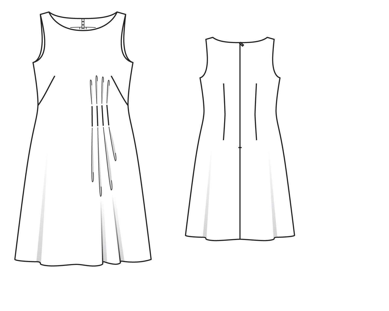 Выкройки для платьев с картинками
