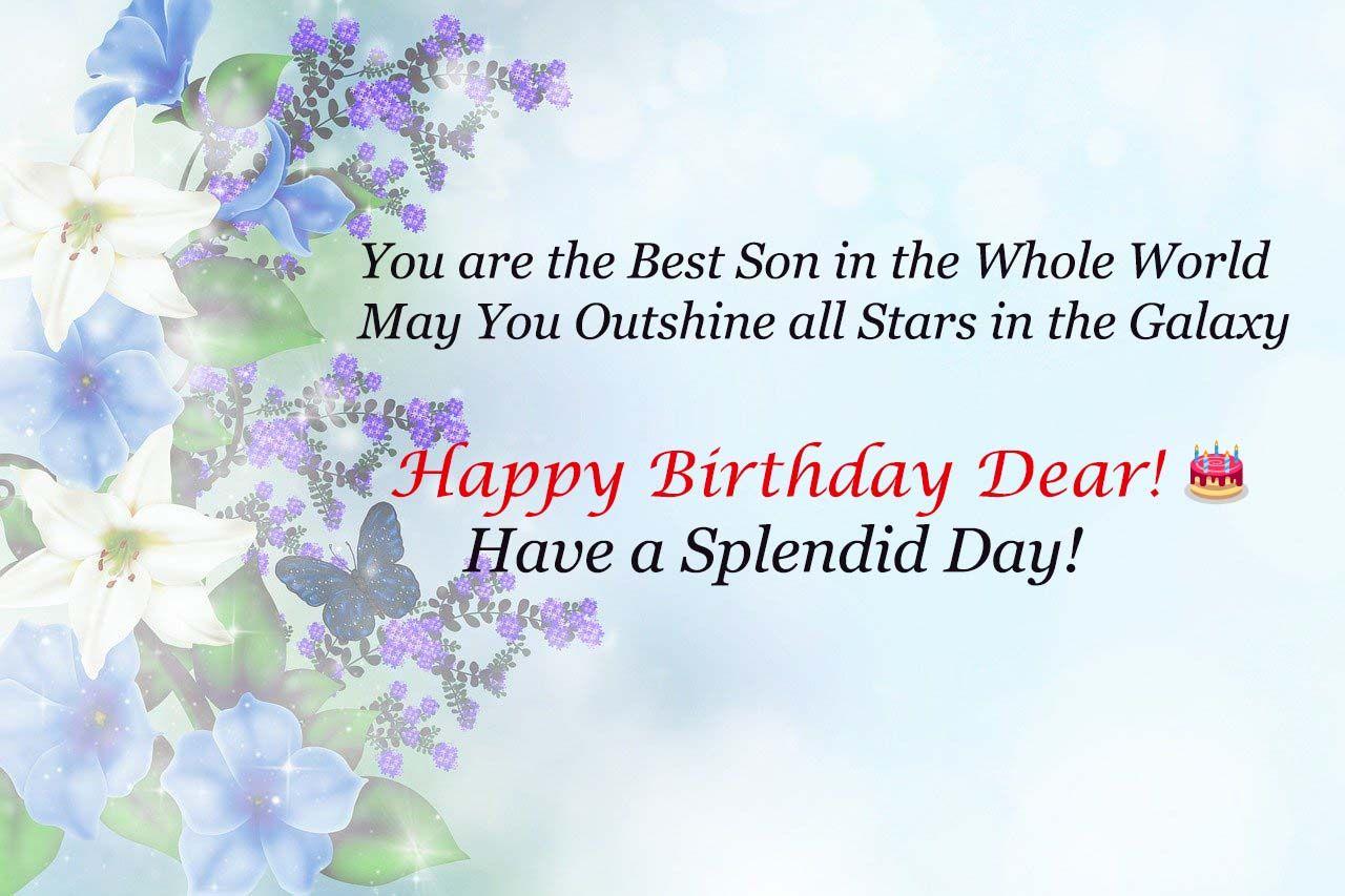 Best Birthday Wishes For Son Best Birthday Wishes Birthday Wishes For Son Happy Birthday Fun