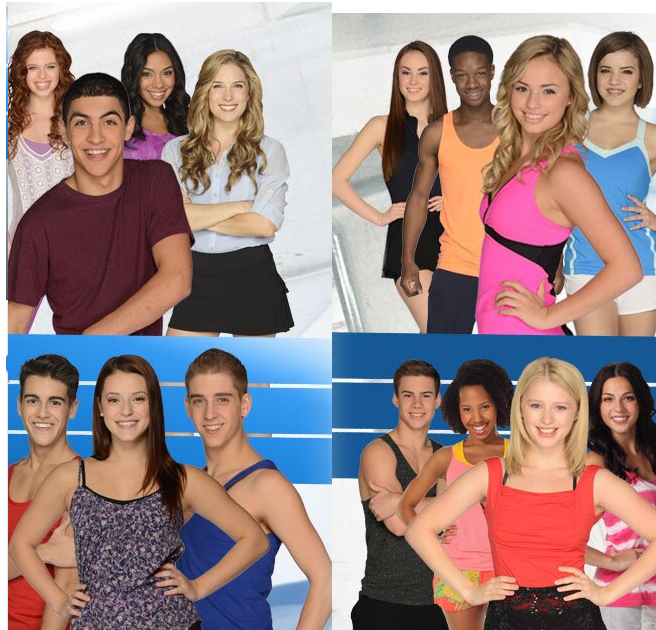 Cast Of Season 2 New Disney Channel Shows The Next Step Dance