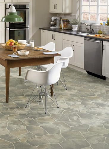 Tarkett Grande Sheet Vinyl 12 Ft Wide At Menards Vinyl Flooring Kitchen Kitchen Flooring Kitchen Remodel
