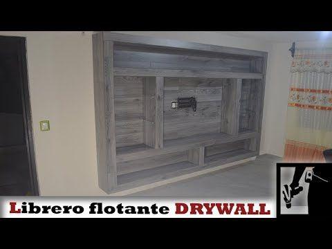 Fabriquer un meuble TV contemporain - YouTube Étagère placo - fabriquer meuble en placo