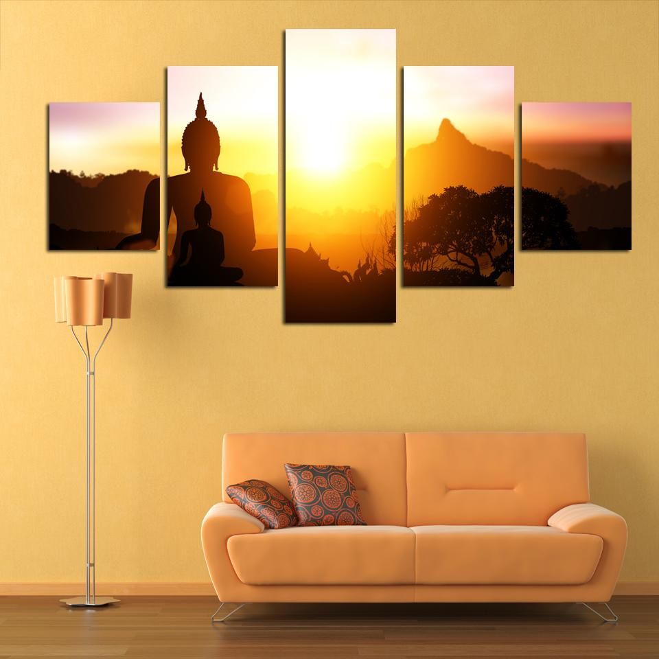 Excellent Buddhist Wall Decor Pictures Inspiration - The Wall Art ...