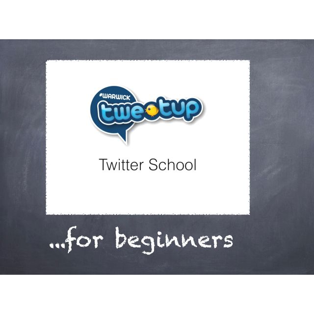 Twitter school for beginners starts this June.