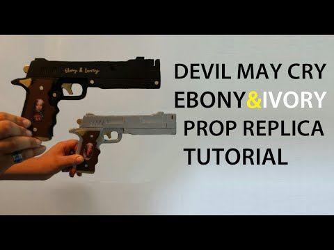 How to Make the DMC Ebony & Ivory | HyperPropsFx - YouTube