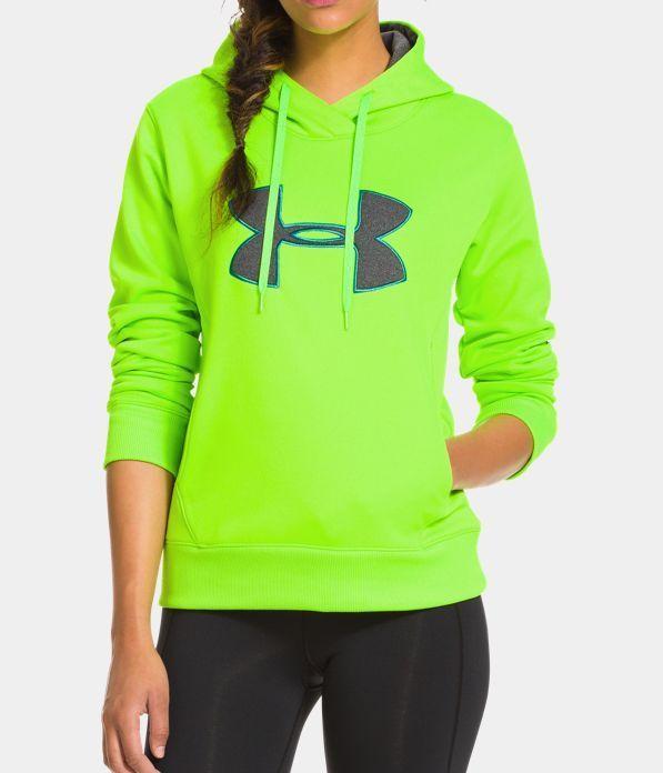 0e34b9874b8b2 Womens UA Storm Armour® Fleece Big Logo Hoodie