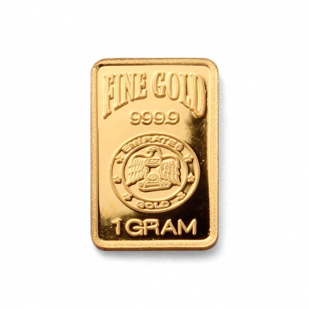 Emirates Gold 1 Gram Blister Pack Range 24 Carat 99 99 Fine Gold Bar Offers The Best Price Per Gram For A 1 Gram Gold B Gold Bullion Gold Bullion Bars Bullion