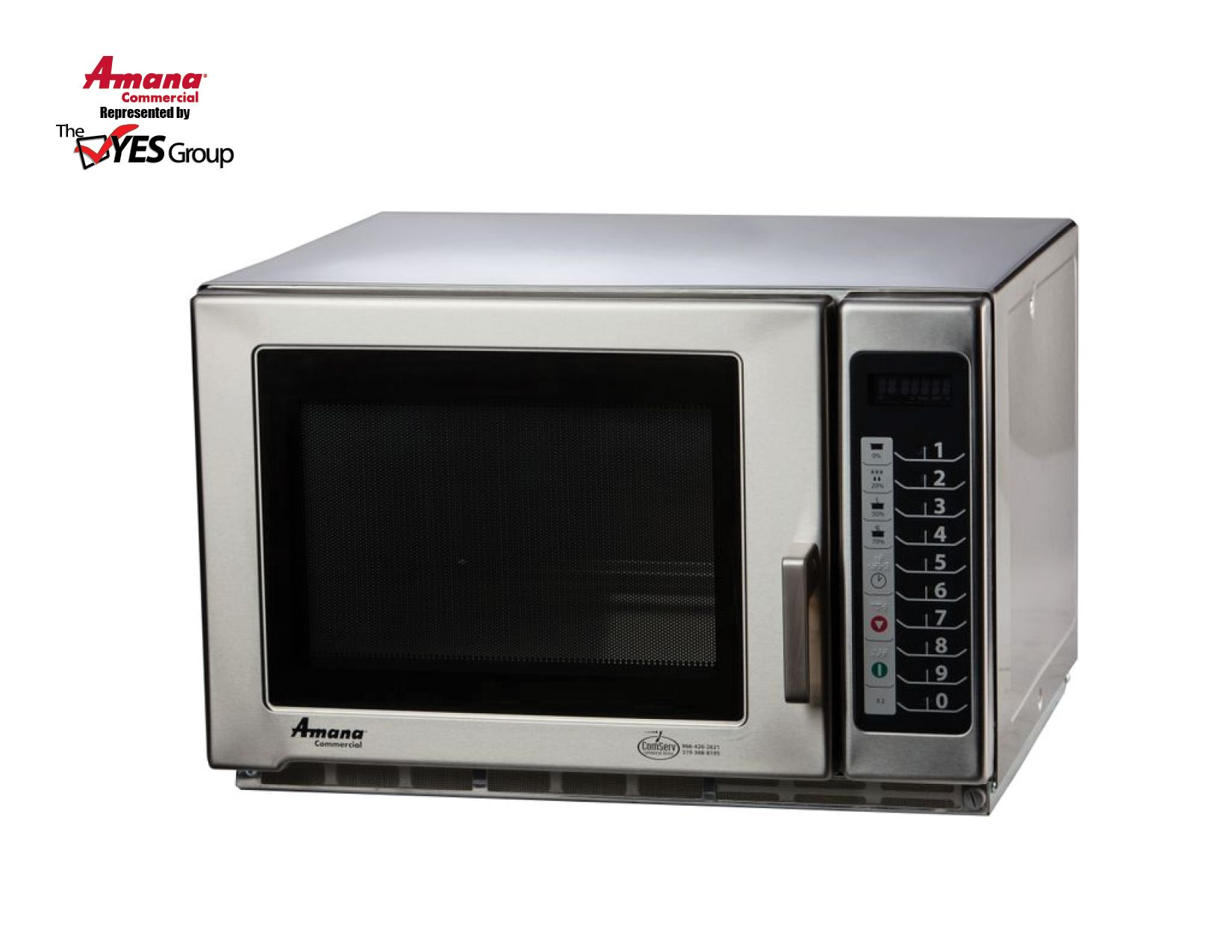 Rfs12ts By Amana Commercial Countertop Microwave Oven Microwave