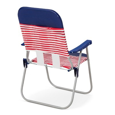 Superb Jelly Folding Beach Chair Red White Blue Room Gmtry Best Dining Table And Chair Ideas Images Gmtryco