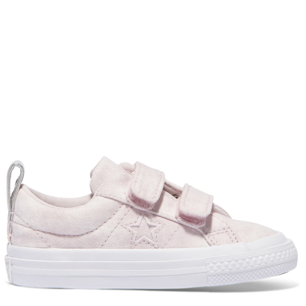 445a7b3e4cea Converse Kids One Star Peached Wash Toddler 2V Low Top Barely Rose Afterpay