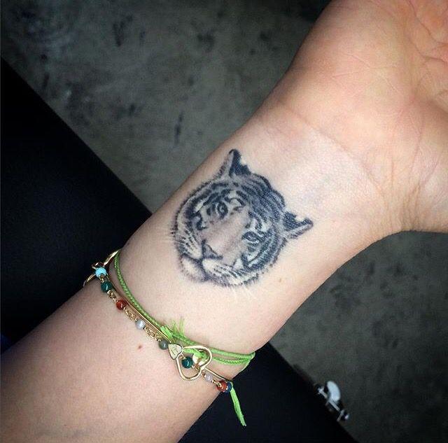 Healed Wrist Tiger Tattoo Small Wrist Tattoos Wrist Tattoos Tattoos