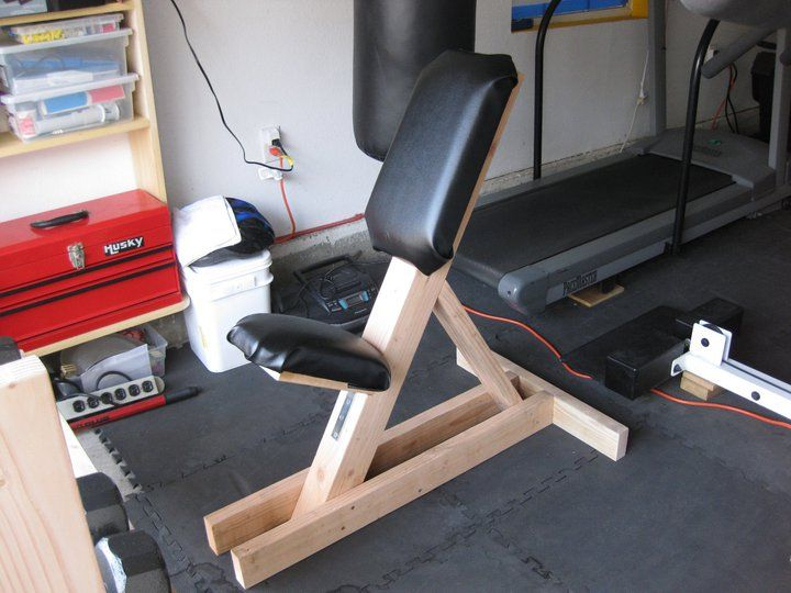 Incline Weight Bench Diy Home Gym Room At