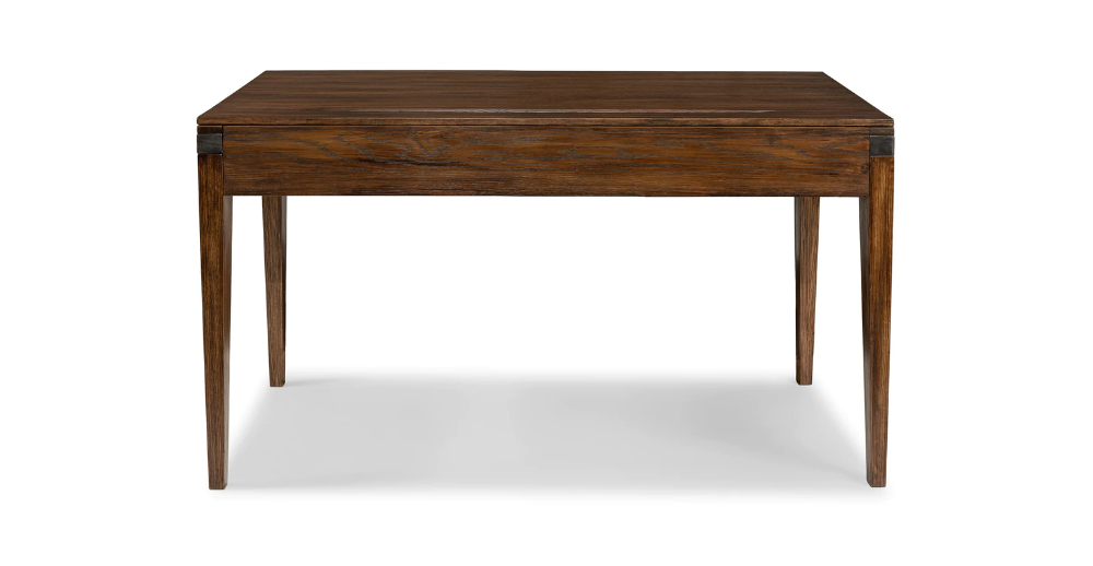 Madera Oak 54 Desk In 2020 Contemporary Desk Mid Century
