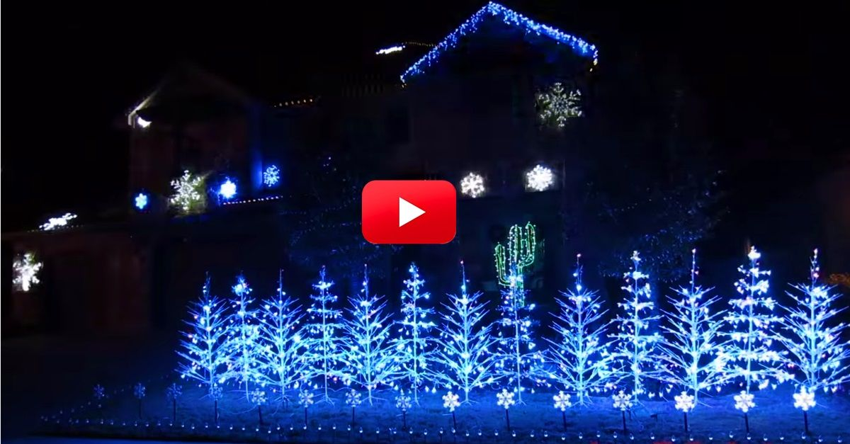 Wow! I Didn\u0027t Think This Christmas Lights Display Could Get Any