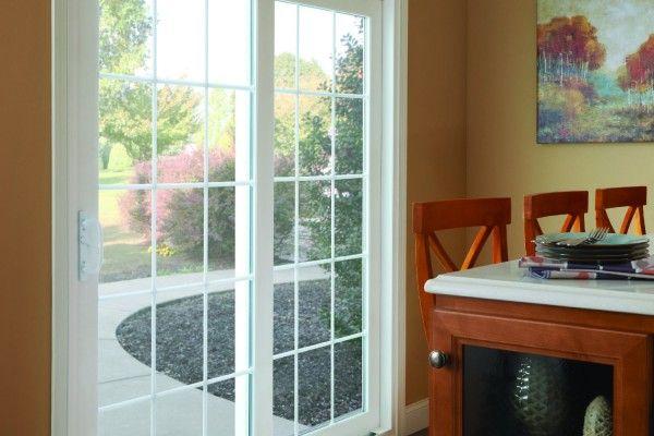 Simonton Sliding Patio Doors In Living Room Terrassentur