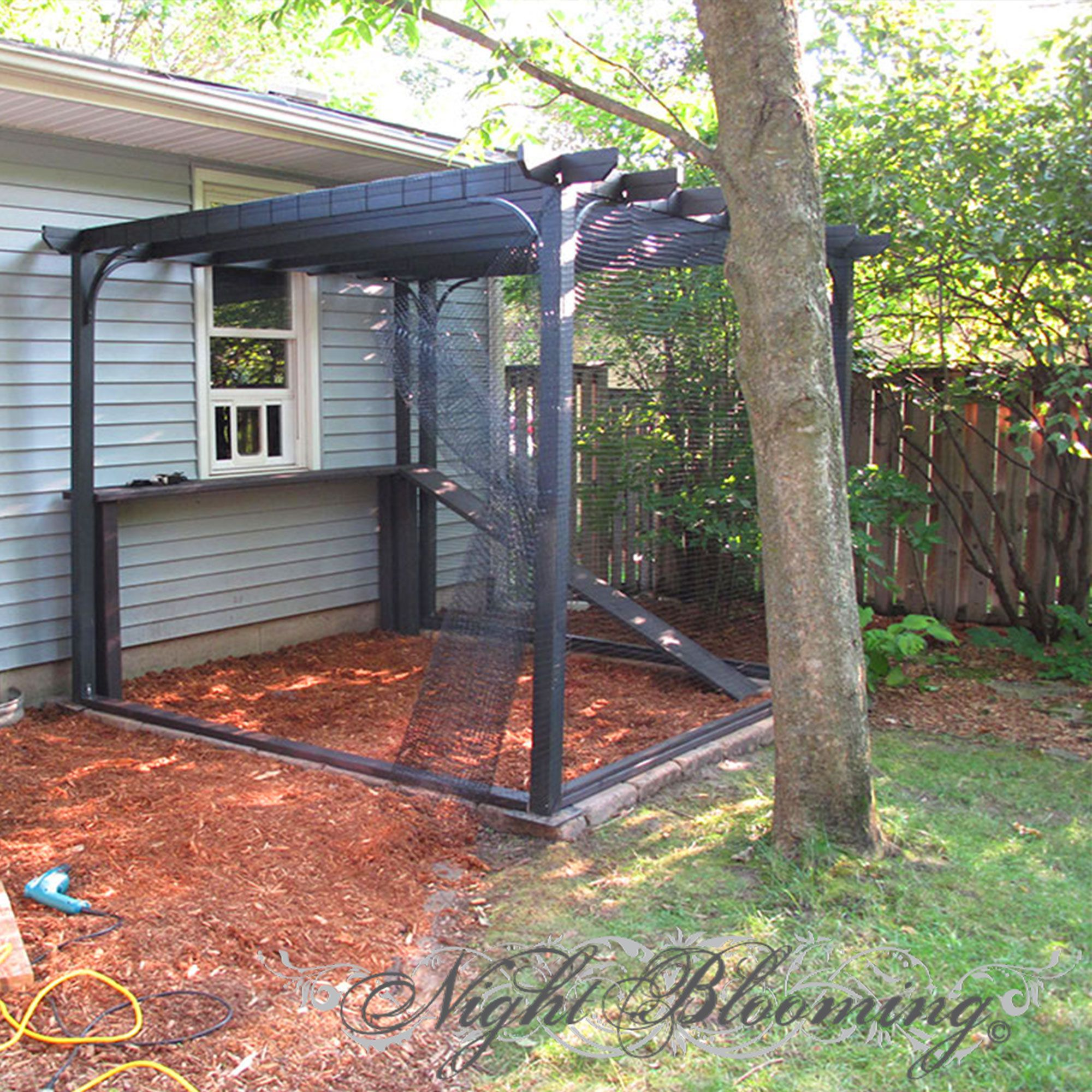 DIY Garden Pergola Cat Enclosure Catio PDF mobi epub guide