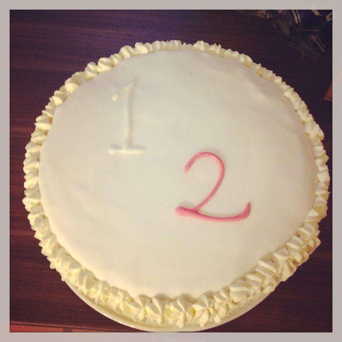 1 ja 2 vuotiaiden syntymäpäiväkakku!