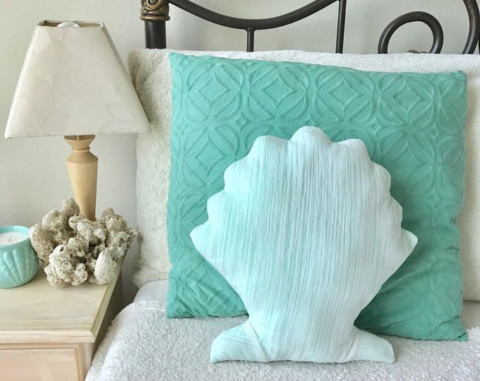 Mermaid Decor Pillow Tail Room Decor Bedroom Nursery Dorm Turquoise Under the Sea Pillows Kids Teens Adults Baby Shower is part of bedroom Themes Beach -  all rights reserved