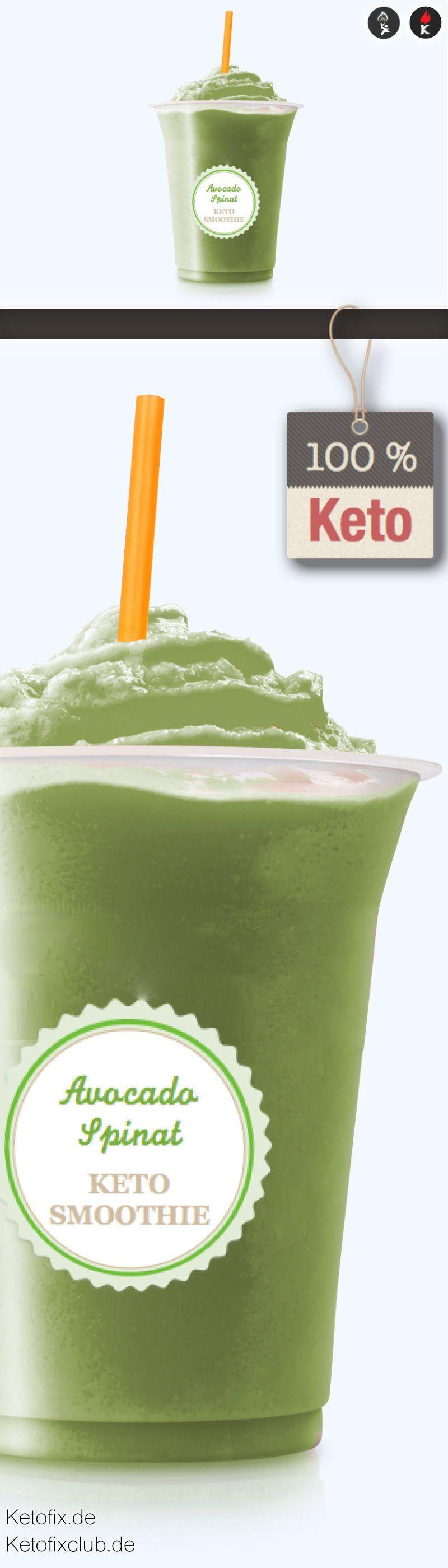 avocado spinat keto smoothie mit moringa rezept keto. Black Bedroom Furniture Sets. Home Design Ideas