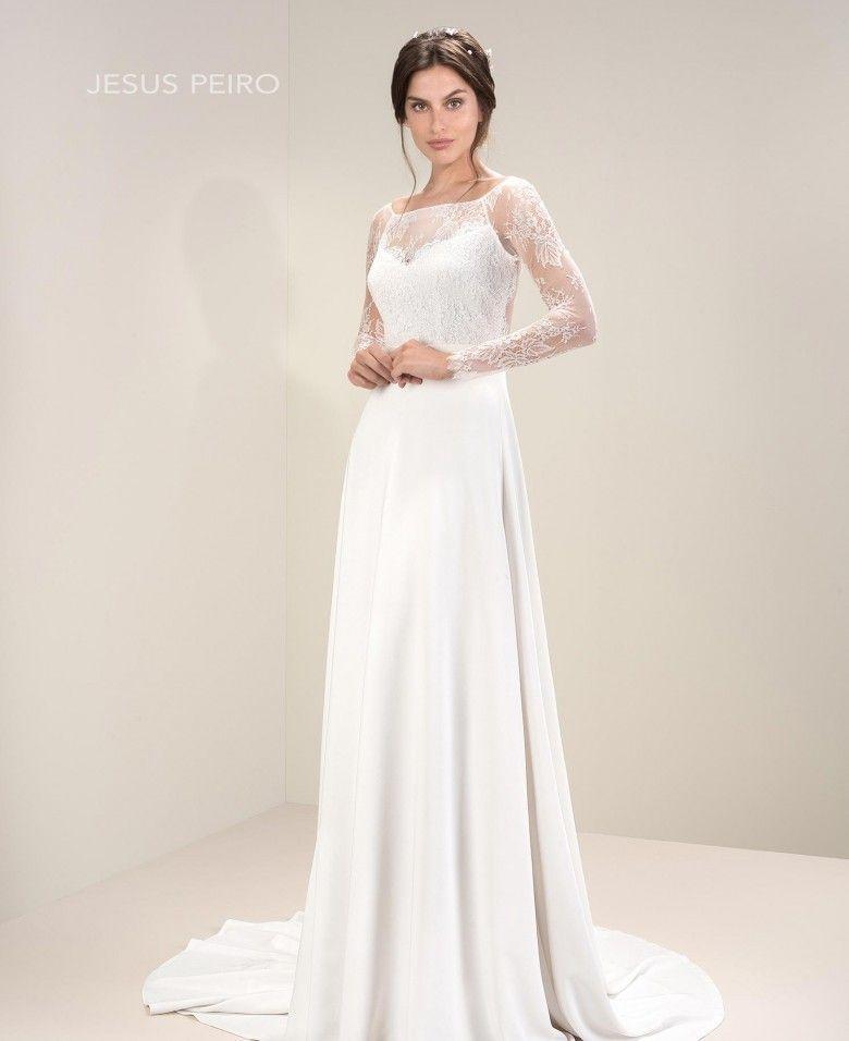 Vestido novia Jesús Peiró Ref.7020 | Bodas | Pinterest | Fancy