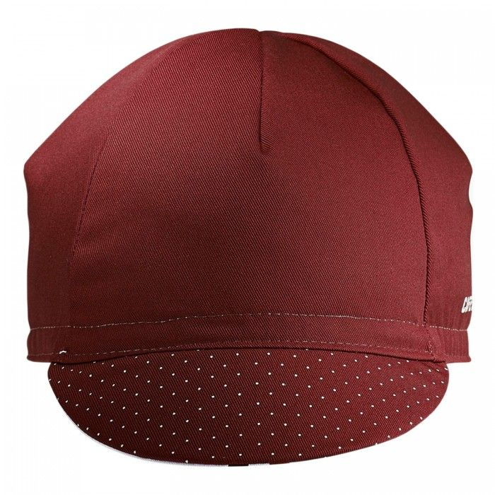 Cafe Du Cycliste Womens Cycling Cap (Red) | VeloVixen