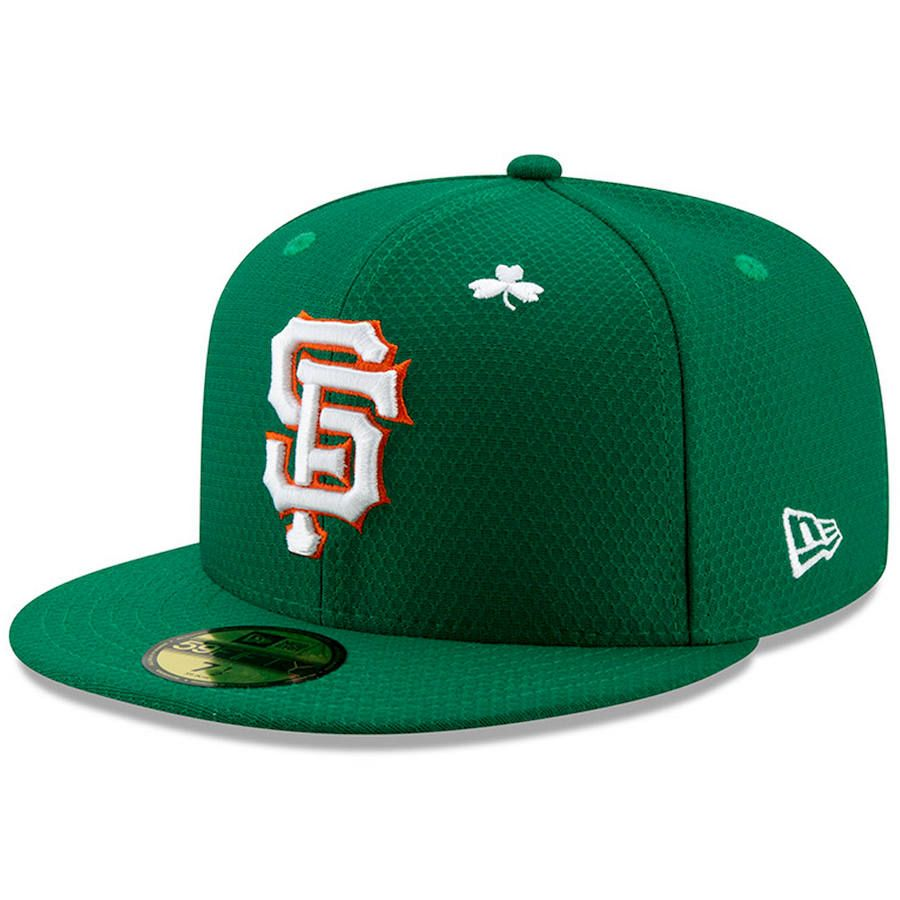 1f302c19c89c1d Men's San Francisco Giants New Era Kelly Green 2019 St. Patrick's Day On-Field  59FIFTY Fitted Hat, $39.99