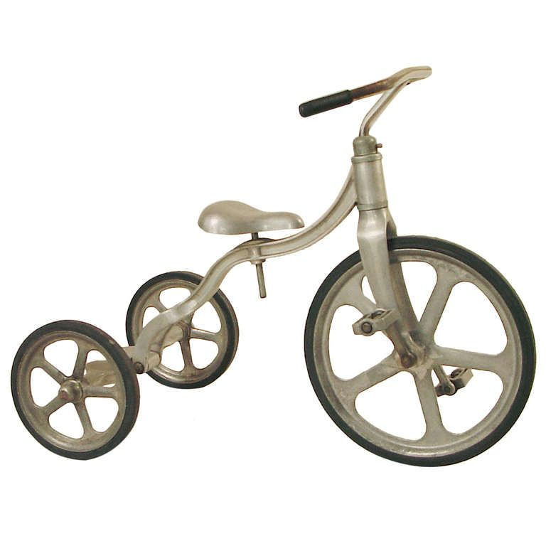 7e5606cc289 All-aluminum Tricycle convertible to Bicycle! Art Deco stylin ...
