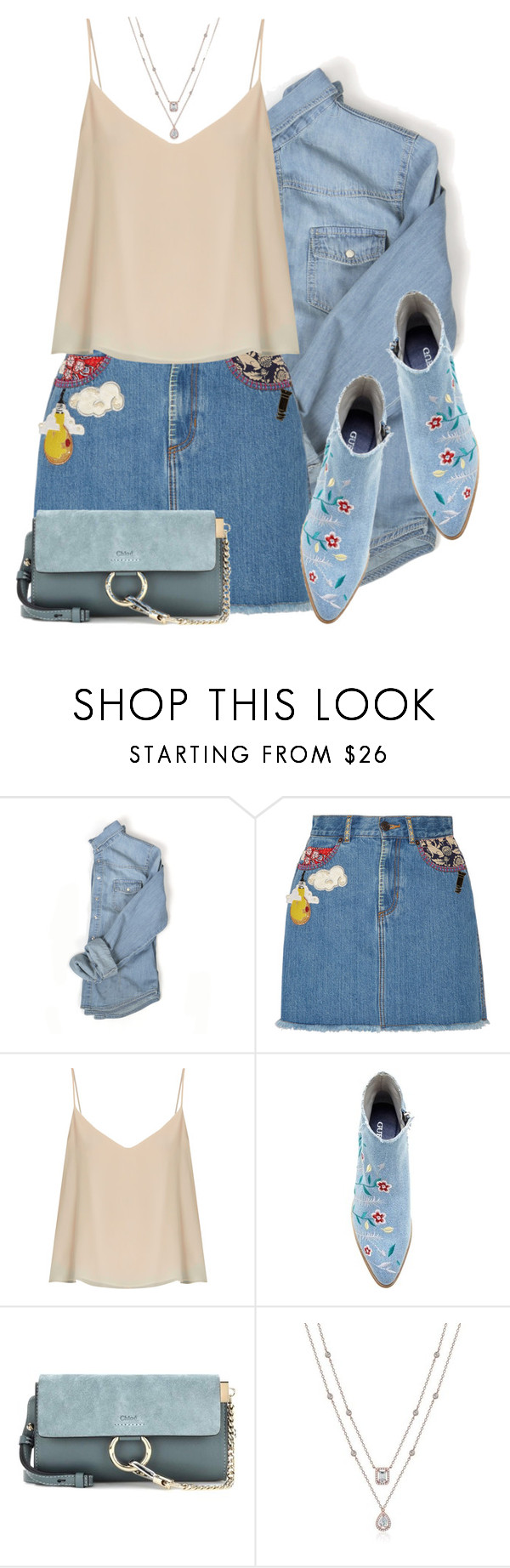 """Без названия #3489"" by ekozlova ❤ liked on Polyvore featuring Marc Jacobs, Raey and Chloé"