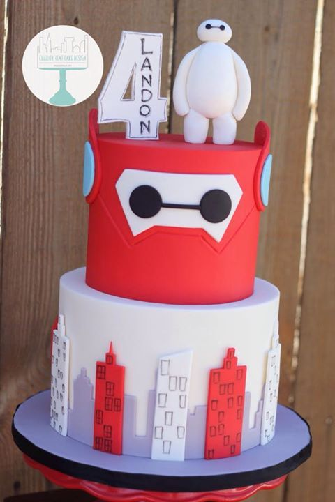 This Is Baymax Your Personal Birthday Cake 6th Birthday Cakes