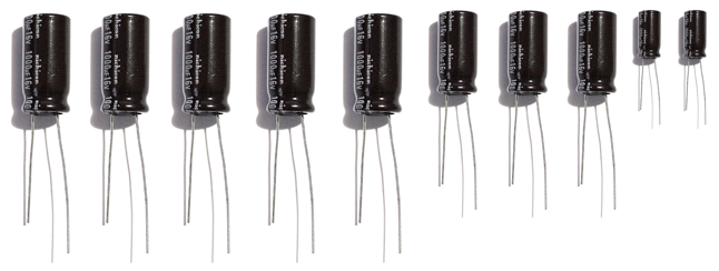lg power supply capacitor repair kit