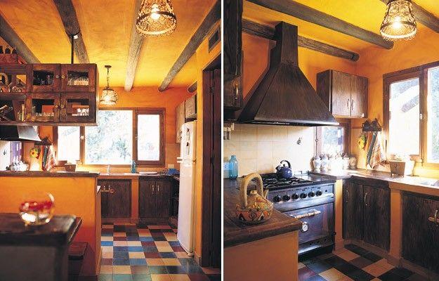 Una casa con estilo mexicano decoracion dise o estilo for Cocinas argentinas decoracion