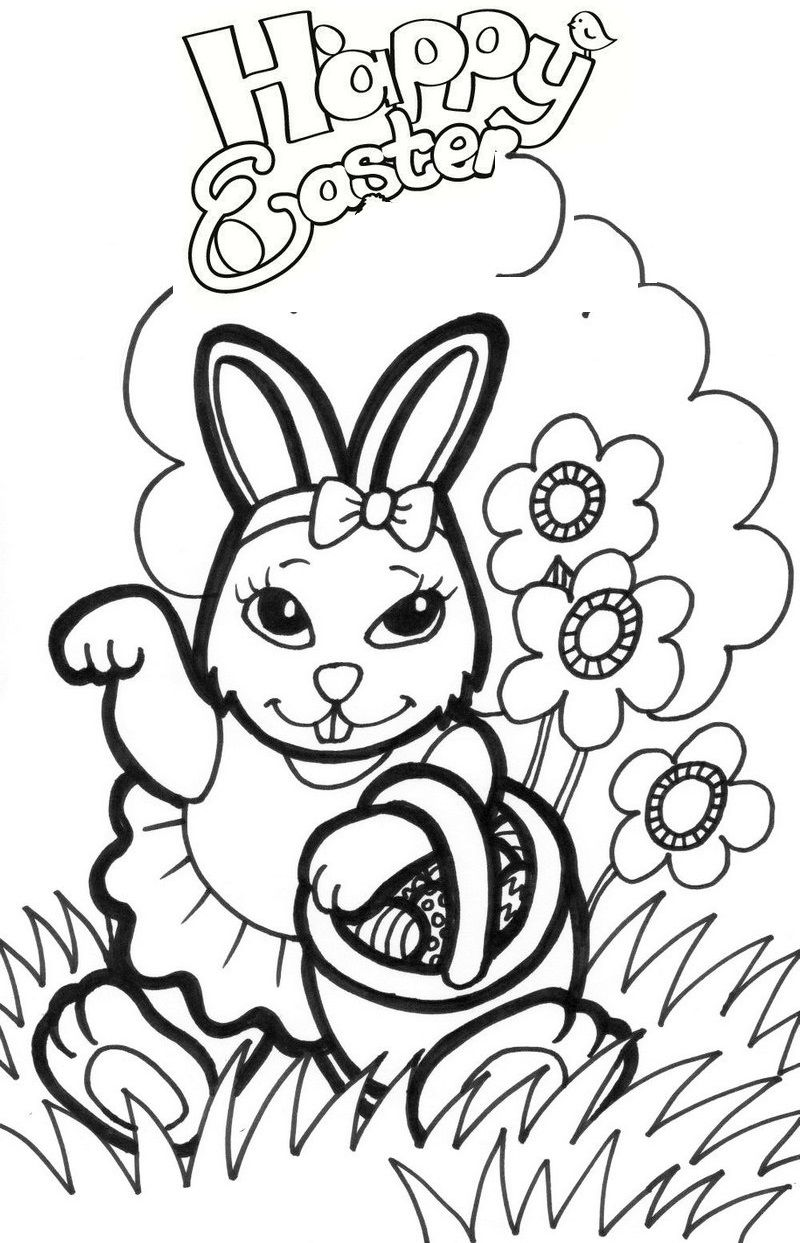 Happyeasterday Easterbunny Coloringpages Bunny Coloring Pages Easter Bunny Colouring Animal Coloring Pages