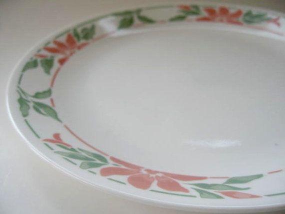 Dinner Plate Vintage Corning Corelle Dinner Plate In The