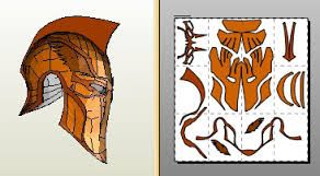 Image result for pepakura deathstroke helmet 300 for Deathstroke armor template