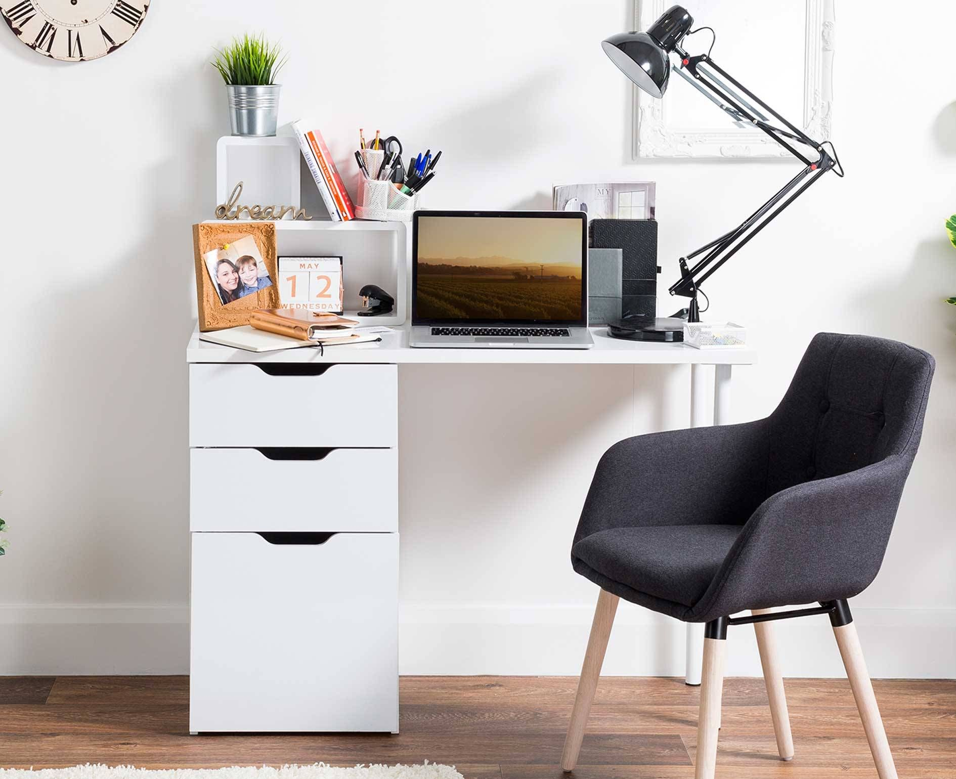 High Gloss Office Desk Cheap Image Is Loading