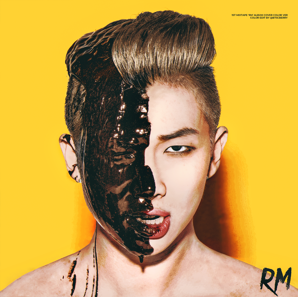 1st Mixtape Rm Album Cover Color Ver Bts Pinterest Namjoon