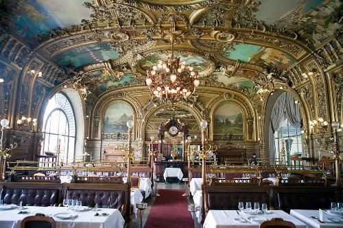 Restaurant Train Bleu Paris Societe