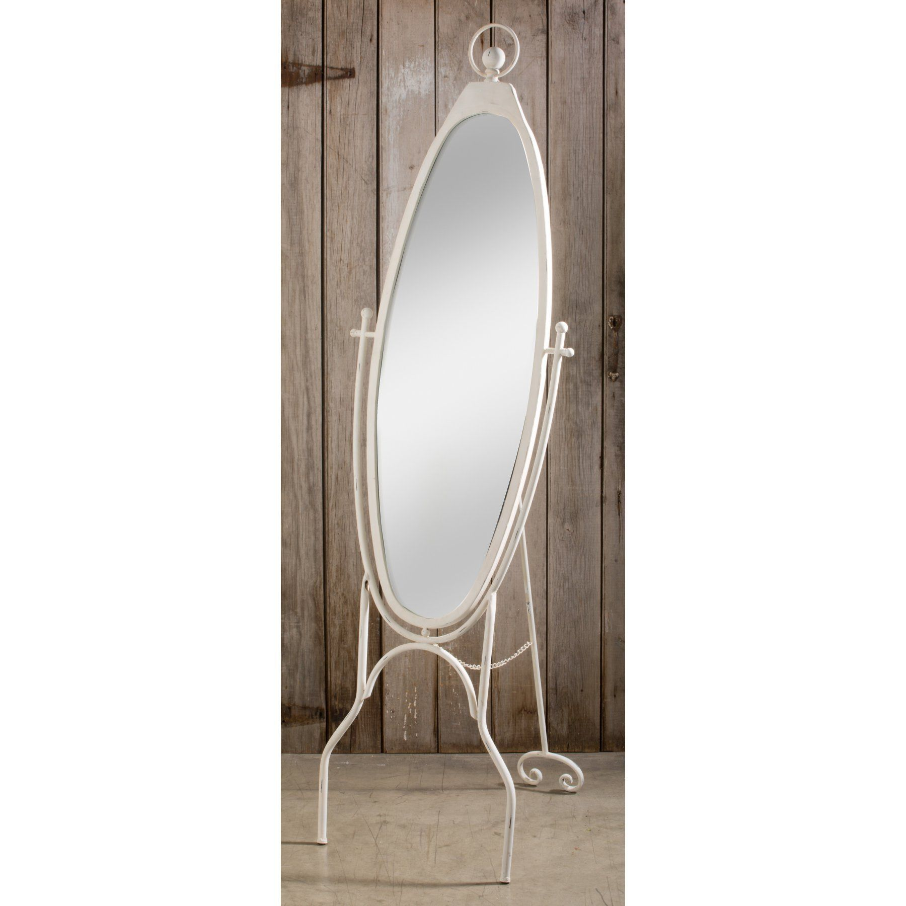 Tall Standing Mirrors. Tripar Metal Oval Floor Mirror - 59362 Tall ...