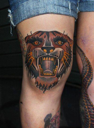 Another great tiger tattoo #tattoo #tiger #kysa