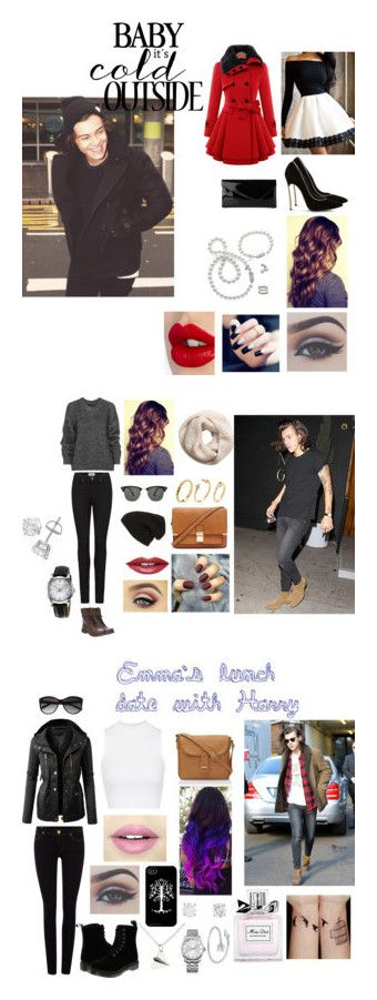 """""""My #HarryStyles Sets"""" by abbyvg-99 on Polyvore featuring Casadei, L.K.Bennett, Mikimoto, Charlotte Tilbury, Belstaff, Paige Denim, Steve Madden, Phase 3, Fiebiger and Ray-Ban"""