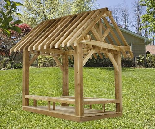 Wood Gazebo Kits Home Depot Designs Concepts Newinteriorhome