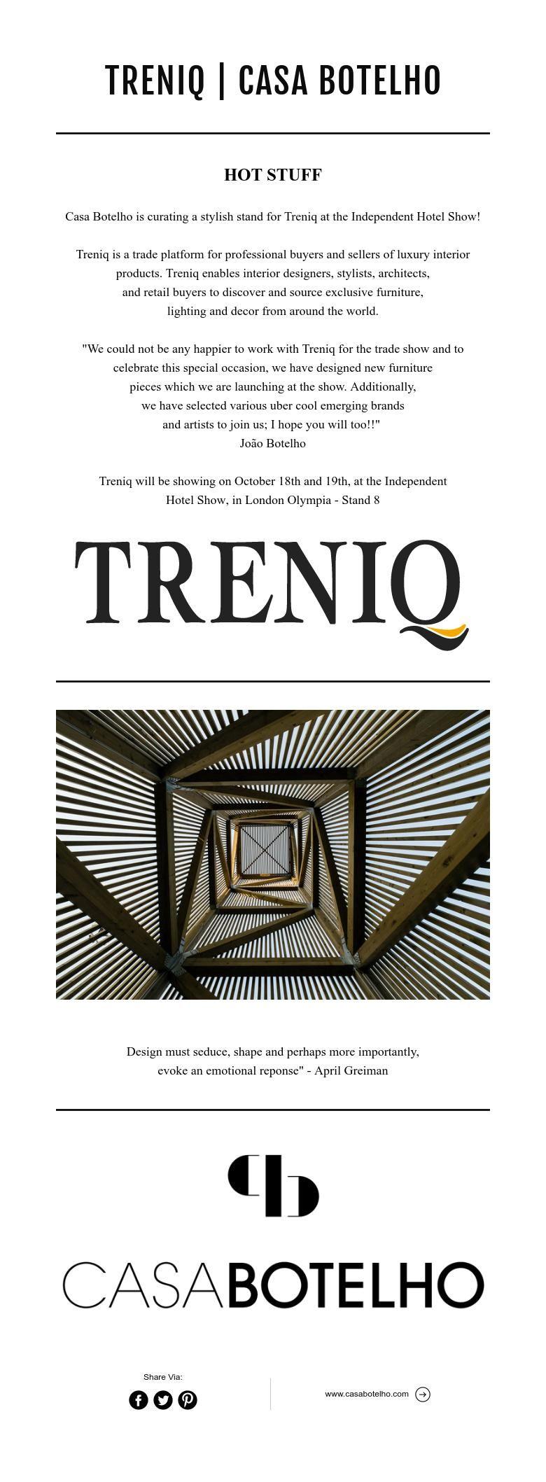 TRENIQ | CASA BOTELHO