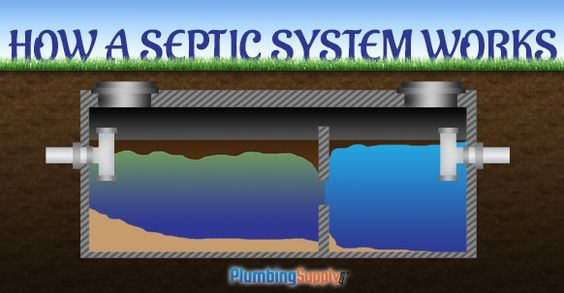 How A Septic System Works Waste Water Management Septic System