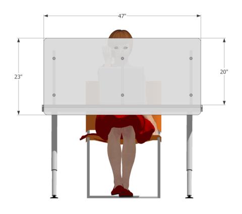 Desk Divide Desktop Dividers Privacy Screen Panels Screens