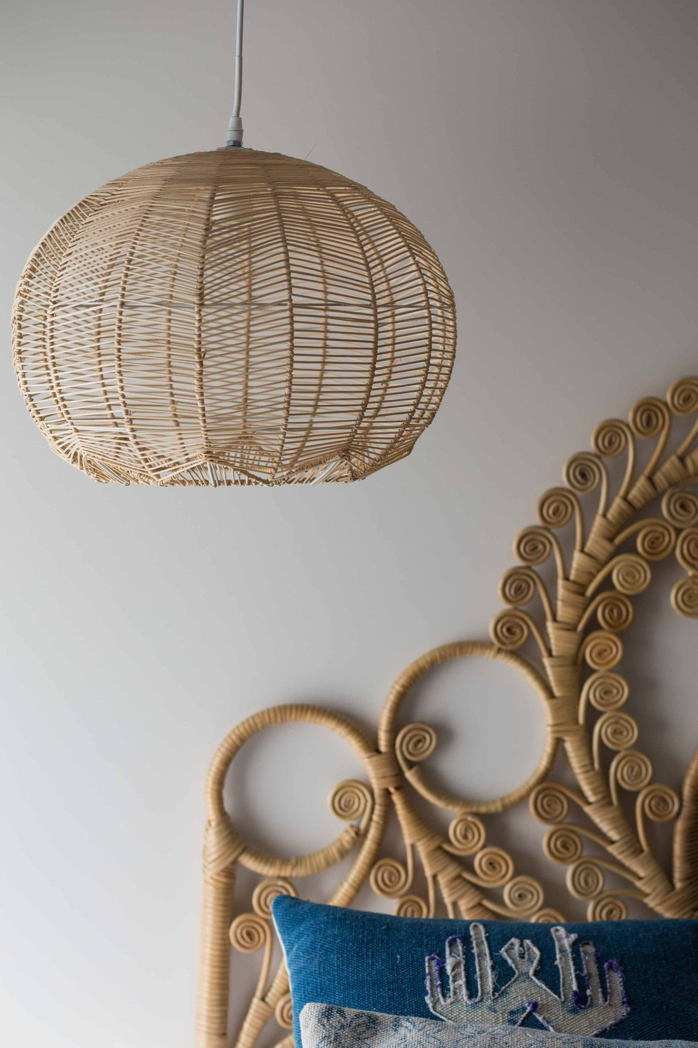 Natural round rattan pendant rattan light fixture rattan pendant light pendant lamps glass