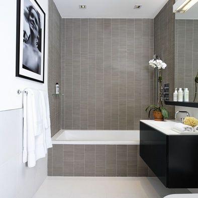 Grey Tone Bathroom Contemporary Bathroom Designs