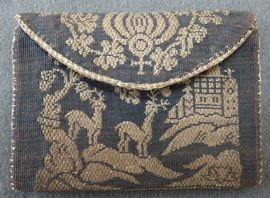 French Woven Needlecase 17th c