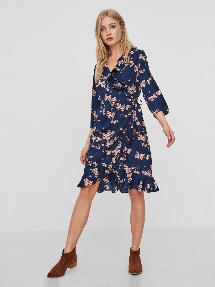 9f0a353b9cd8 Henna dress | VERO MODA | Sy-inspirasjon | Dresses, Vero Moda og Hemline