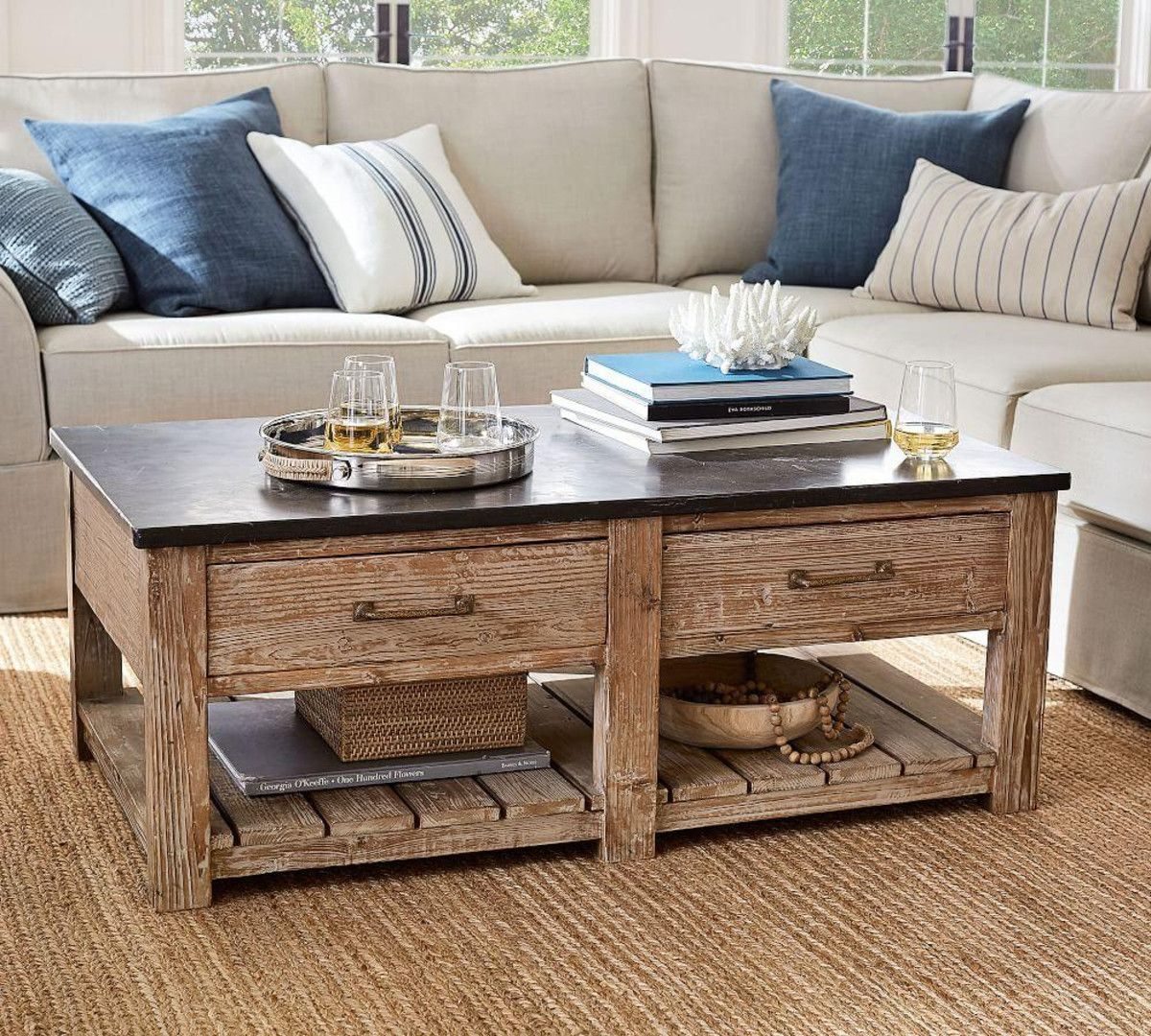 Pin by Pam Peterson on Tables Decorating coffee tables