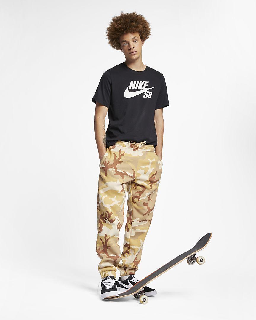 Nike Sb Icon Pantalon De Skateboard De Camuflaje Hombre Nike Sb Camuflaje Nike